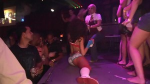 Babes showing off in the club - DreamGirls