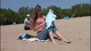 Nude in public russian beach babes