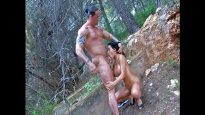 Teen with big tits fucked in the woods - Kemaco Studio