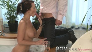 MOM Beautiful MILF s brought to climax