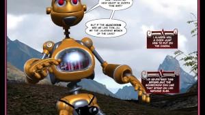 3D comic: Dorthy 1