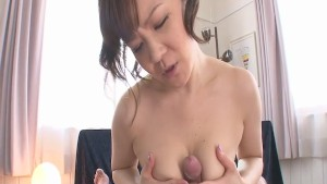 POV blowjob with sexy big tit Ichika Asagiri