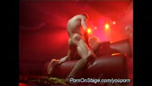 rough sex on public stage