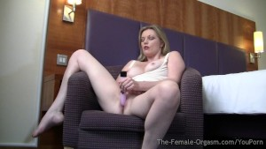 Hot Multiorgasmic MILFs Masturbate Solo and Together
