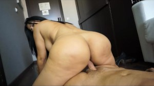 Galilea shakes her Big Ass and gets Fucked
