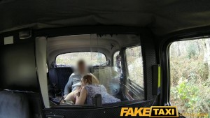 FakeTaxi Big ass big mouth and a very wet pussy