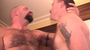 Hot Bear Fuck Ends With A Facial - Factory Video
