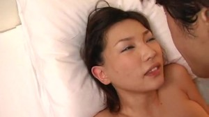 Busty Japanese Cutie Gets Banged And Jizzed On