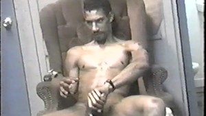 Lubed up and jacking off - East Harlem Productions