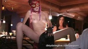 Masked MILFs fuck suck squirt in Trapeze orgy My longest upload