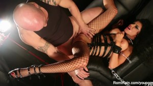 Romi Rain goes hardcore with Derrick Pierce