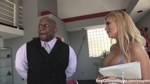 Shyla Stylez Sucks and Fucks a Big Black Cock