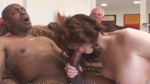 Muff Diving Interracial Wife Fuck