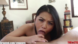 Throated Cindy Starfall in FUCK my FACE