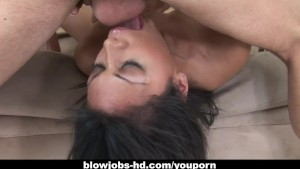 Latin hottie Cassandra Cruz devours that dick