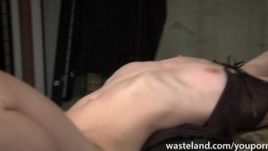 Ginger dominatrix has a blonde sex slave to play with