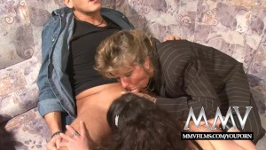 MMV Films German amateur couple gets training