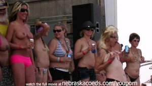 real biker chicks going real wild in iowa