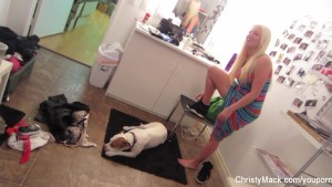 Behind the Scenes fun with Christy Mack & Nick Manning