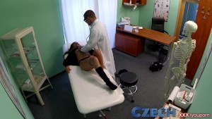 Czech Pretty young model strikes a sexual deal for tattoo removal treatment