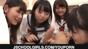 Group hardcore for sexy schoolgirls