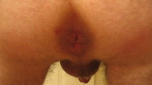 My own cum... in my own ass