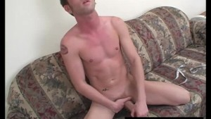 Young Straight Guy Jayden Masturbating