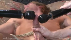 Edging Bondage Virgin Surfer Dude