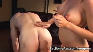 Filthy Slut Sindy Lange Loves Eating Ass for a Nice Facial