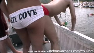 random party girls naked in public party cove lake of the ozarks