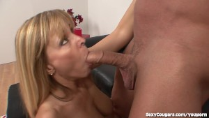 Horny MILF Babe Loves Younger Men!