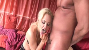 Fantastic blonde likes big dicks