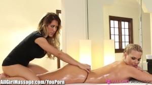 Phoenix Marie and Capri Cavanni Lesbian Massage