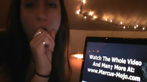 Woman Watches Gay Porn On The Internet