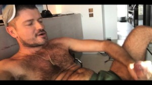 TIERY B. - JAZZ SUITE - Solo hairy stud big headed fat cock masturbate - Handsome fur and bush - Sexy mate - Erotic self-pleasure - Meaty - French amateur -