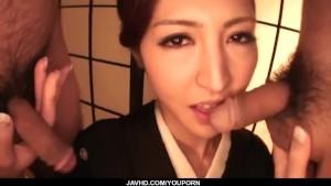 Perfect Japanese blowjob withKoyuki Hara
