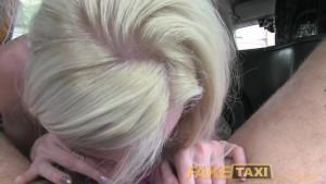 FakeTaxi Hot Blonde chooses sex over gym