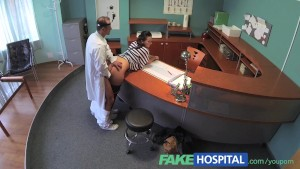 FakeHospital Doctor empties his sack to ease sexy patients pain in her back