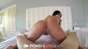 Hot ass latina Selena Santana is fucked in POV - POVD