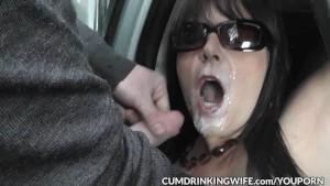 Slutwife Marion gangbanged by hundreds of guys