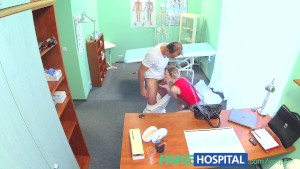 FakeHospital Slim blonde uses her sexy body and talented tongue to get a job