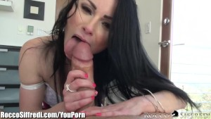 RoccoSiffredi Veruca James Swallows After Anal