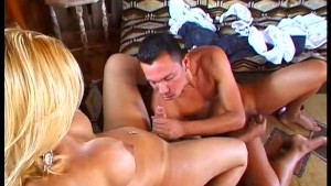 Blonde Shemale Gets Fucked - Wildlife