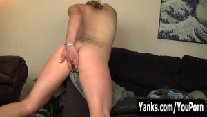 Tattooed Sage Rubbing Her Quim