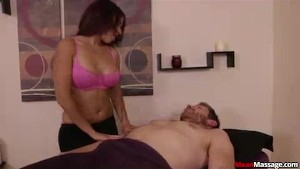 Unique In Her Extremely Gentle Massaging