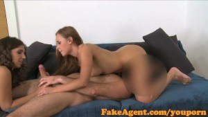 FakeAgent Two horny friends will do anything for a job part 2