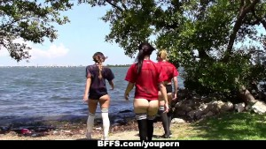 BFFS - Football Coach Fucks Horny Teens