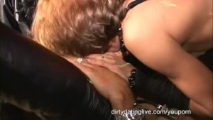 Masked big clit orgy MILF has 2 cums Eaten standing Flat on back Long edit