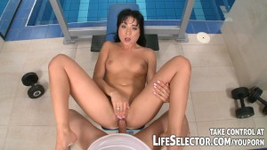 Interactive adventure with hot brunettes