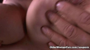Big titted milf Laura fulfills a deep need for masturbation